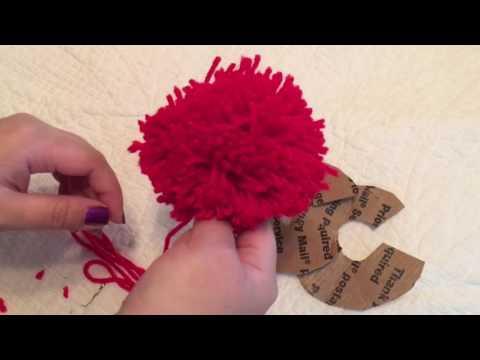 How to make fluffy Pom Pom for Hmong hat