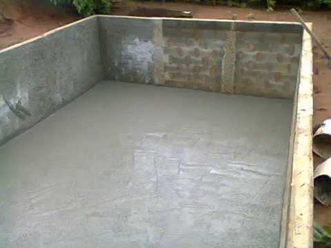 Constru o piscina de alvenaria fam lia marioto youtube for Piscinas semienterradas