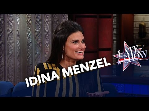 Idina Menzel Is A Fan Of Stephen's Tweets