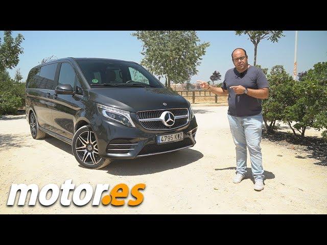 Mercedes Clase V   Prueba