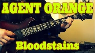Agent Orange - Bloodstains (guitar cover + TAB)