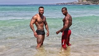 Marcus Bondi Beach Workout | Max The Body & David Mcintosh