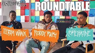 Roddy Ricch, Comethazine and Tierra Whack's 2019 XXL Freshman Roundtable Interview