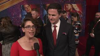 CAPTAIN MARVEL Red Carpet With Anna Boden And Ryan Fleck