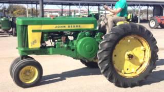 1957 john deere 720 gas complete running tractor