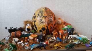 ANIMALS TOYS COLLECTIO FOR KIDS | КОЛЛЕКЦИЯ Игрушек учим ЖИВОТНЫХ ДЛЯ ДЕТЕЙ