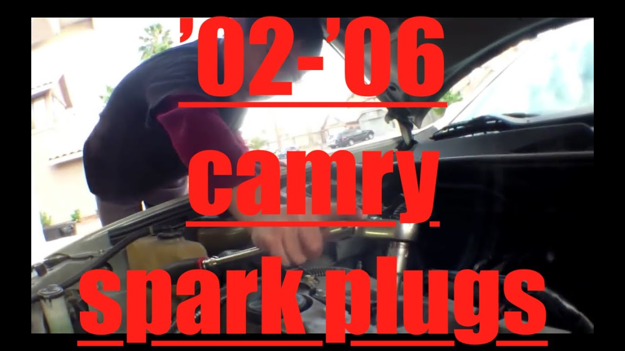 2008 Toyota Sienna Spark Plug change - YouTube