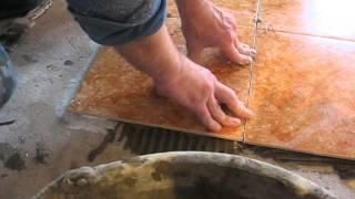 укладка плитки на тёплый пол(Укладка плитки на тёплые полы., 2013-11-13T18:07:22.000Z)