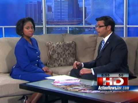 Borland-Groover Clinic's Dr. Gopal interview on CBS Jacksonville for Code Blue.