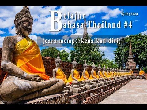 Belajar Bahasa Thailand #4 (cara memperkenalkan diri)
