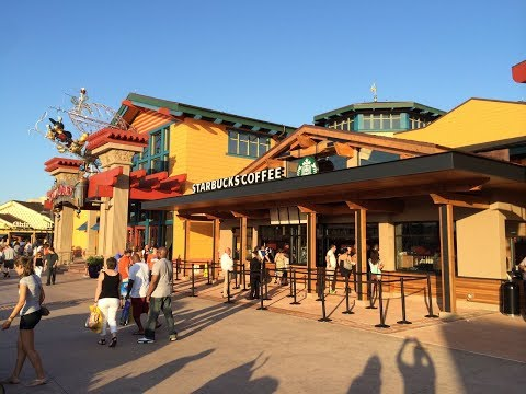 Starbucks Delivery Now Available in Disney Springs