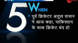 5W1H: Shashi Tharoor bats for Indo-Pak World Cup match