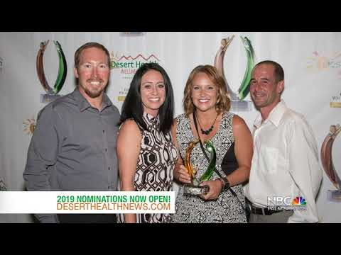 Nominations Now Open for the 2019 Desert Health Wellness Awards!
