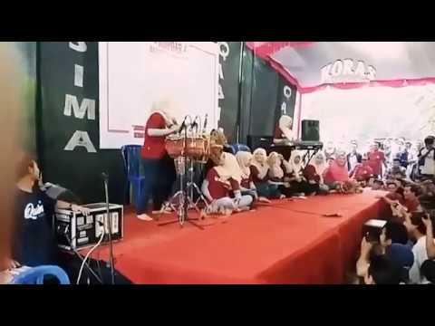 Jaran Goyang - Qasima Voc.Neysa Live Acara Kopdar Qasimania Nusantara