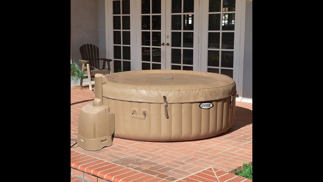 Jacuzzi Intex Pure Spa Ssp 20 Enredada