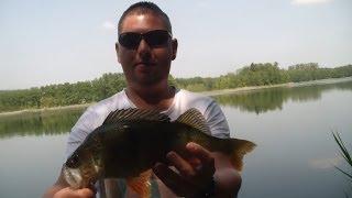 Spinning ' Okonie giganty boczny trok ' jezioro Marzeń