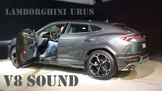 Lamborghini Urus Loud V8 Revving! [Strada VS Corsa exhaust sound]