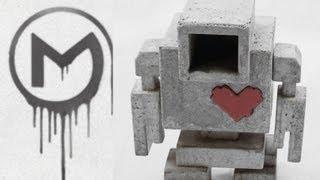 LoveBot Thermal Speed Art