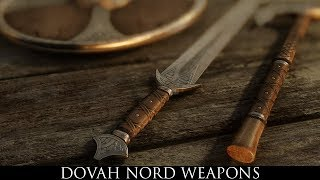 TES V - Skyrim Mods: Dovah Nord Weapons
