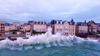 Les Grandes Marées survolées par le  Drone d