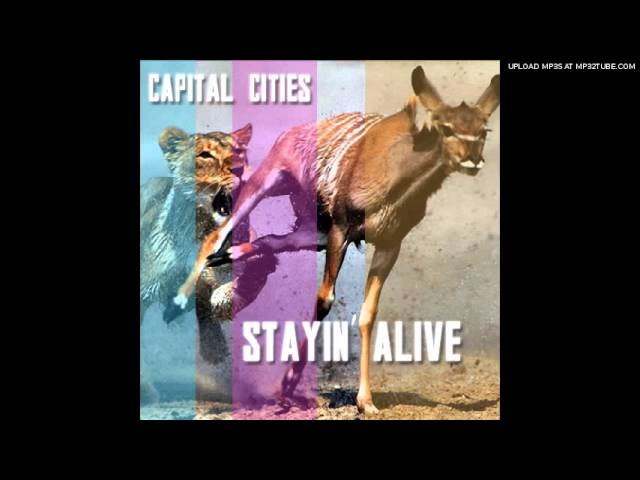 Capital Cities - Stayin\' Alive (Cover) Chords - Chordify