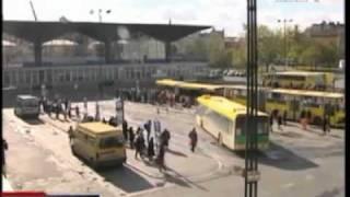 Dworzec PKP/PKS, Katowice - wyburzanie
