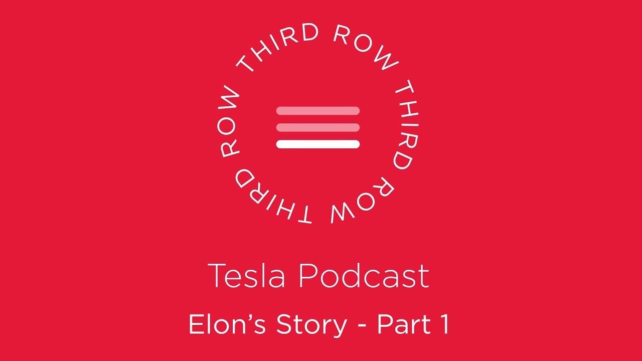 """Vaizdo rezultatas pagal užklausą """"Third Row Tesla Podcast"""""""