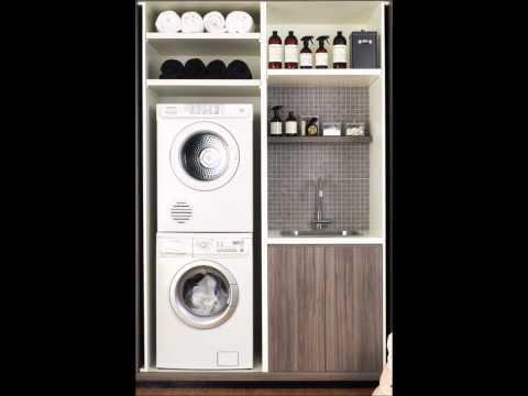 DecoraciÓn para cuartos de lavado modernos   youtube