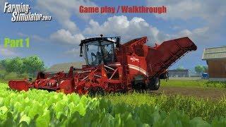 Farming simulator 2013 - Game-play / Walkthrough - Part 1