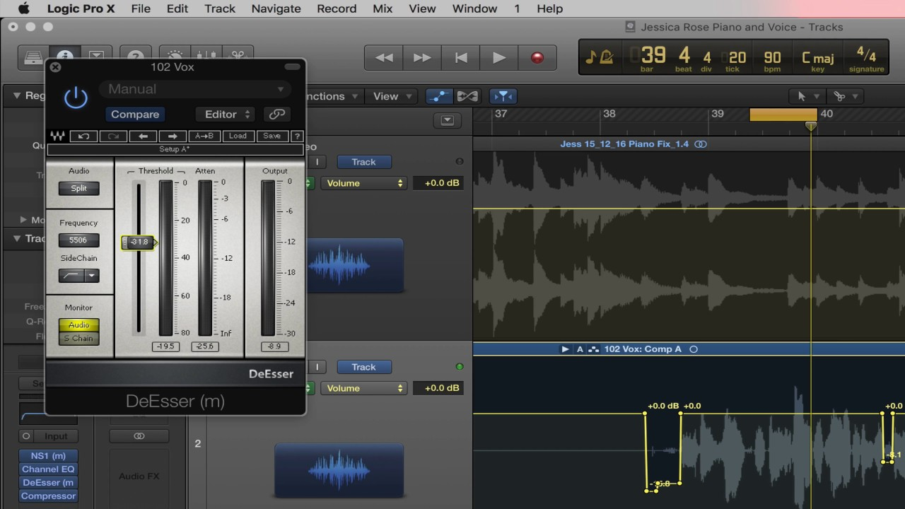 logic pro x plugins for vocals