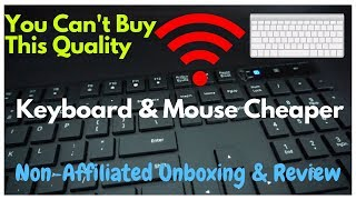 Best Cheap Wireless Keyboard and Mouse | VicTsing Wireless Keyboard and Mouse | Unboxing & Review