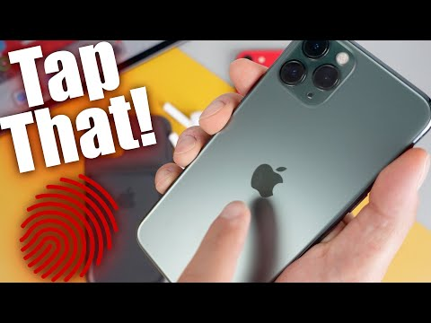 How To Use Back Tap On iPhone - Tap The Back Of The iPhone (iOS 14)