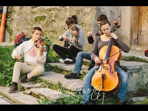 "Royal Quartet - Medley ""Classical music & Thunderstruck"" (AC/DC violin cover) #FolkRockVideo"