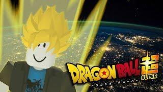 as a SUPER SAIYAN - Dragon Ball Super Roblox #1 (extended Version)