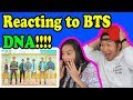 BTS DNA MV REACTION!!!!