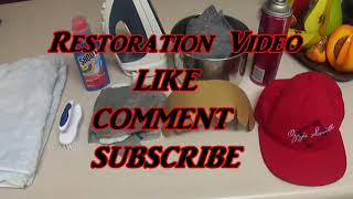 BEST SNAPBACK RESTORATION VIDEO ON YOUTUBE