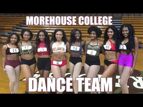 MAKING THE TEAM!!! Morehouse College Dance Team