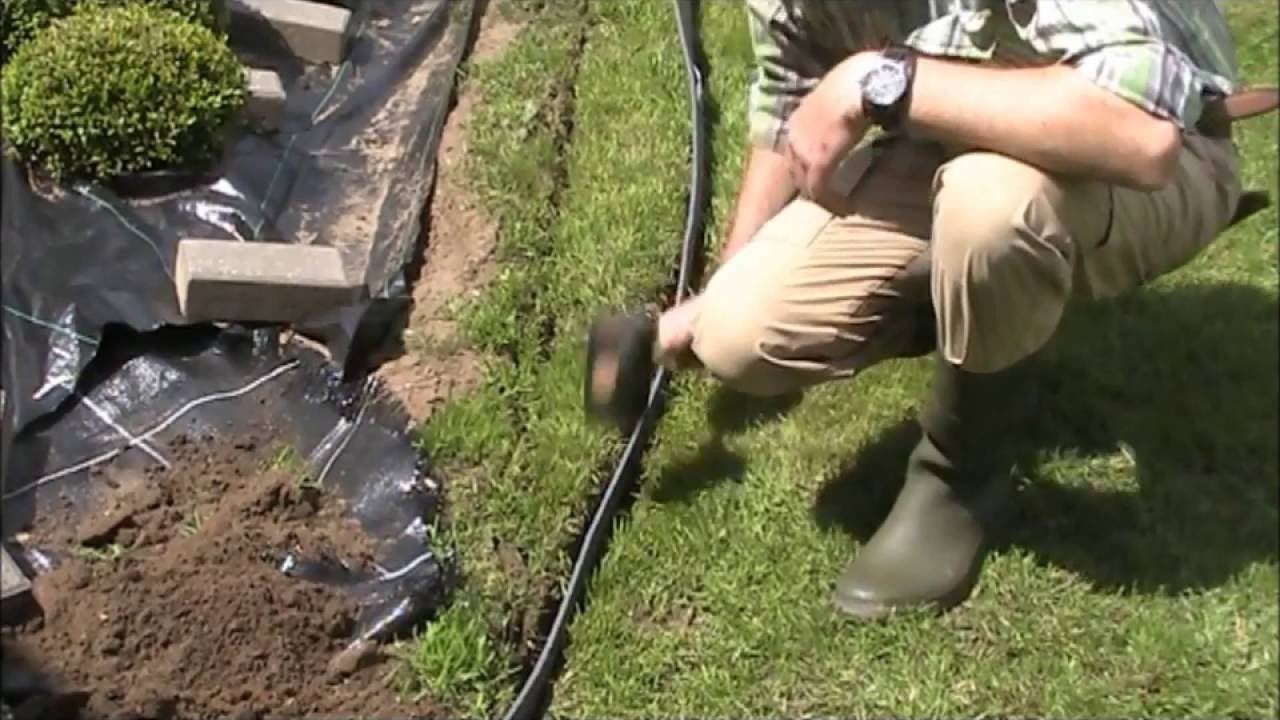 Pose Terrasse Composite Leroy Merlin Eco-oh! Ecolat Pour Bordure Gazon - Youtube
