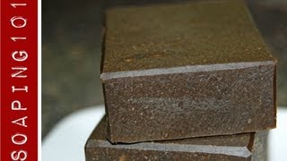 How To Make Pine Tar Soap Eczema Psoriasis Soaping101 Youtube