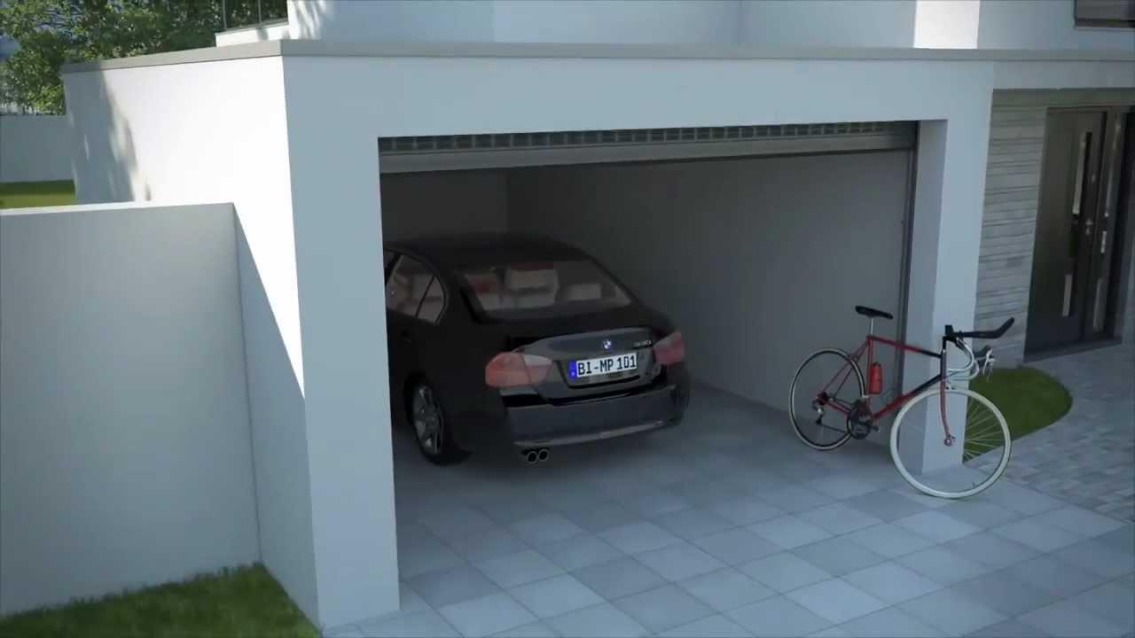 alulux detolux garagentor youtube. Black Bedroom Furniture Sets. Home Design Ideas