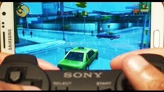 How to Pair Playstation 3 Controller (PS3) to Samsung Galaxy Note 2 II GT-N7100, GT-N7105