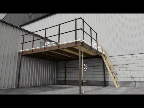 How to install a Mezzanine kit