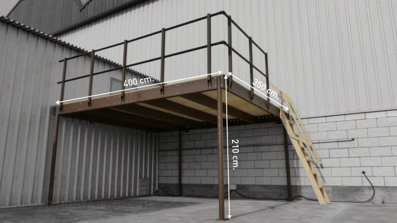 How to install a Mezzanine kit - YouTube