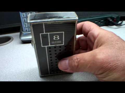 Seville Solid State 8 Transistor Radio