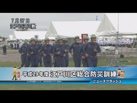 平成29年度 江戸川区総合防災訓練