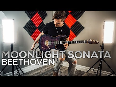 Ludwig Van Beethoven - Moonlight Sonata (3rd Movement) - Cole Rolland (Guitar Cover)