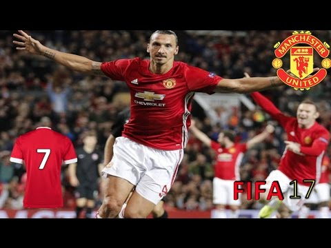 FIFA 17 Manager Career Man Utd Part 7 w\Commentary Manchester Derby