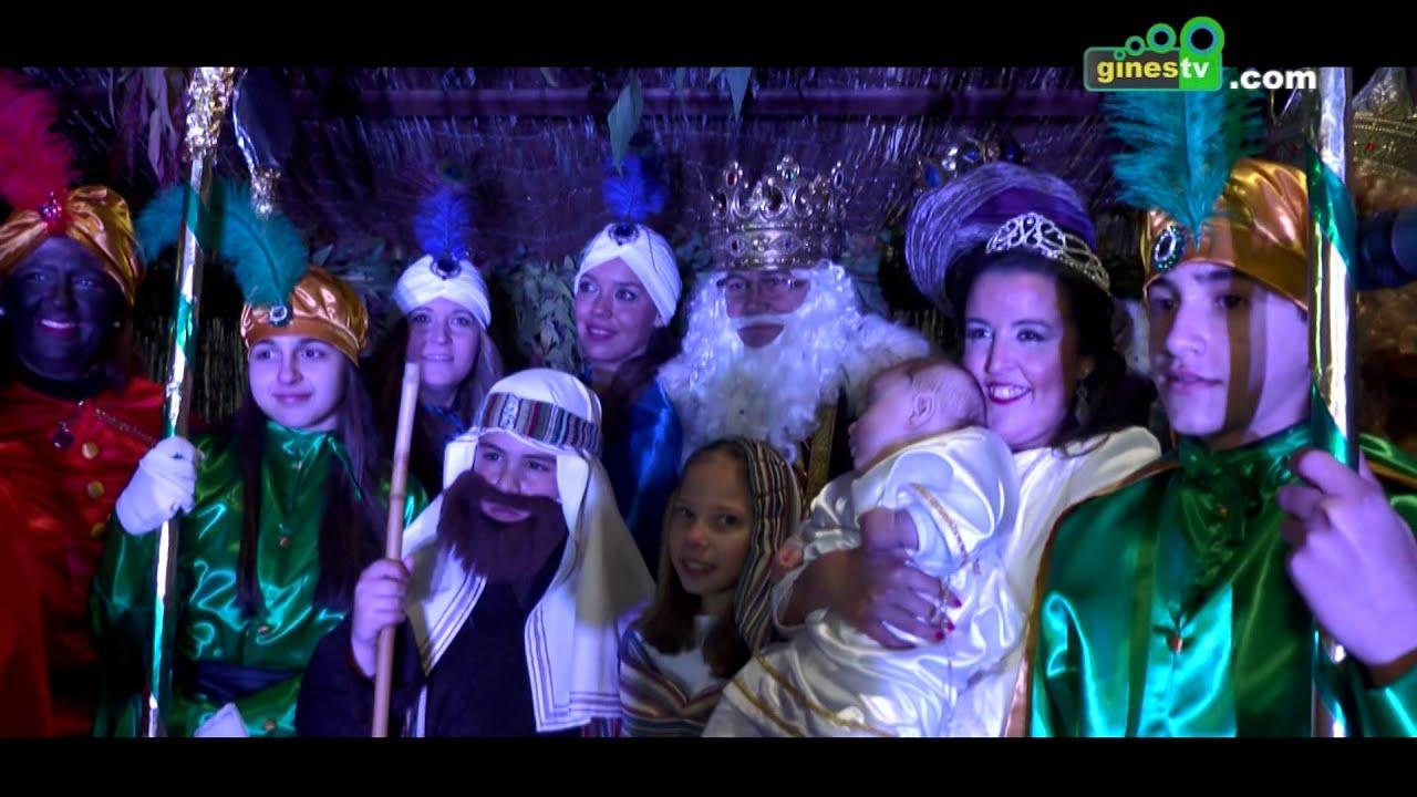 Resumen de la Cabalgata de Reyes Magos de Gines 2016