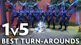 1vs5 TURN-AROUNDS that changed course of tournaments in 2019
