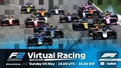 F2 Virtual Racing | Round 1